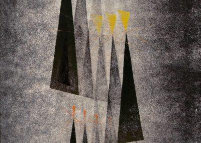 Untitled - Harry Bertoia (1943)