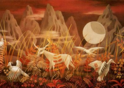 Valley of the moon - Remedios Varo (1950)