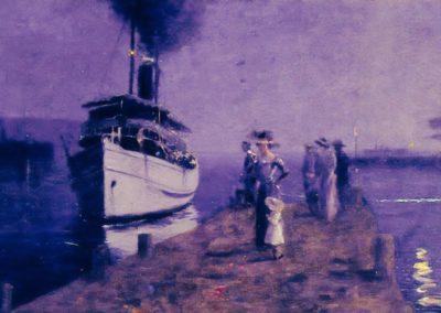 Vaporetto a Lerici - Llewelyn Lloyd (1921)