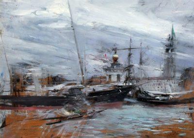 Venezia, punta della Dogana - Giovanni Boldini (1887)