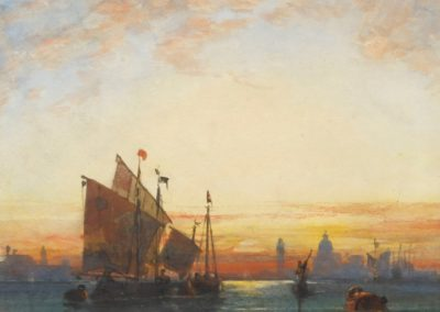 Venice, evening - William Wyld (1861)