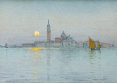Venice moonlight - Walter Launt Palmer (1903)