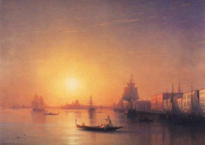 Venise - Ivan Konstantinovich Aivazovsky (1840)