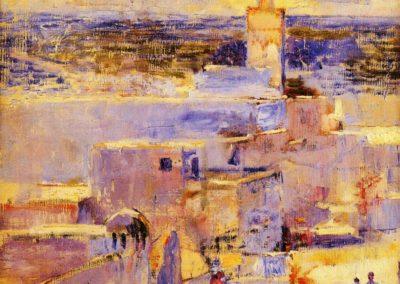 Vue de Meknes - Theo van Rysselberghe (1888)