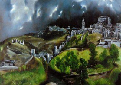 Vue de Tolede - Le Greco (1599)