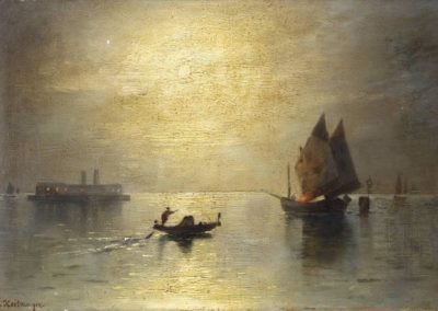 Vue de Venise - Karl Heilmayer (1882)