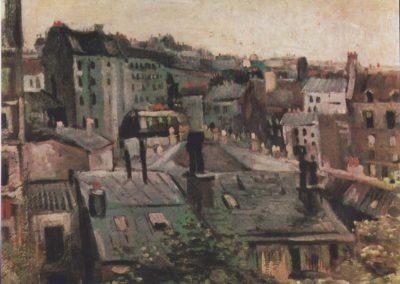 Vue des toits de Paris - Van Gogh (1886)