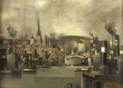 Vue du port de Rouen - Pierre Hodé (1925)