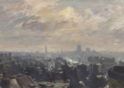 Westminsterfrom Mayfair - Edward Brian Seago (1946)
