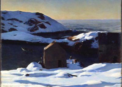 Winter, Monhegan island - Rockwell Kent (1907)