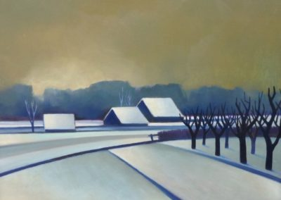 Winter landscape 2 - Chris Ten Bruggen Kate (1977)