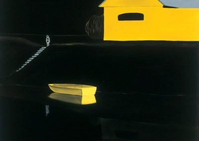 Yellow boat - László Fehér (1990)