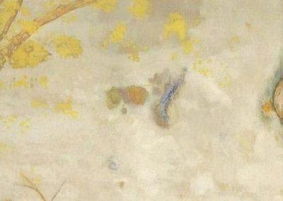 Yellow flowering branch - Odilon Redon (1901)