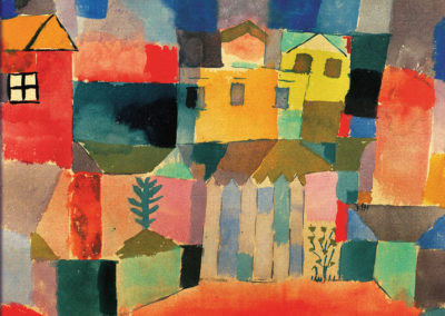Houses on the sea - Paul Klee (1914)
