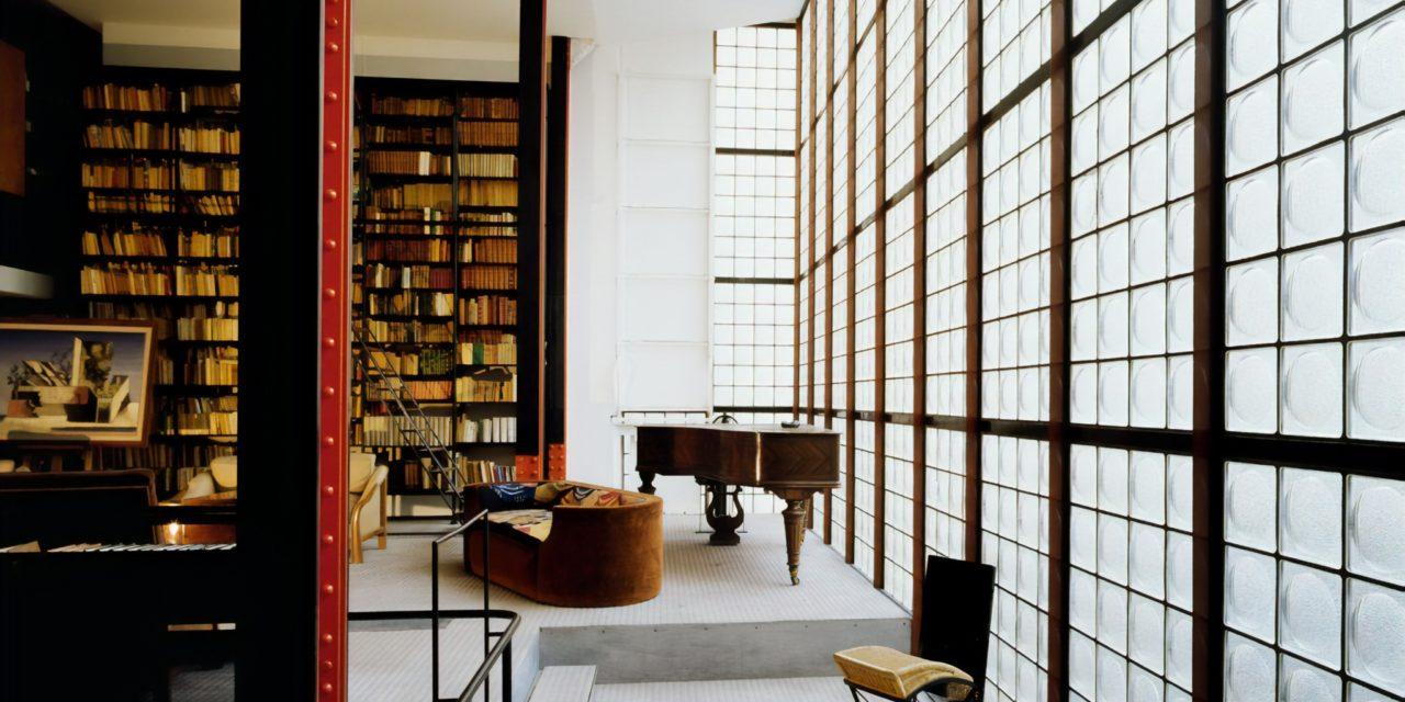 la maison de verre pierre chareau le vagabond des toiles. Black Bedroom Furniture Sets. Home Design Ideas