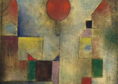 Red balloon - Paul Klee (1922)