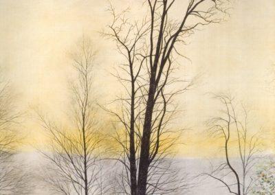 Arbres dans l'inondation - Léon Spilliaert (1944)