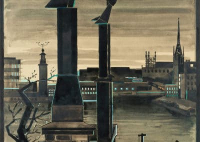 Cheminées - Gösta Adrian-Nilsson (1934)