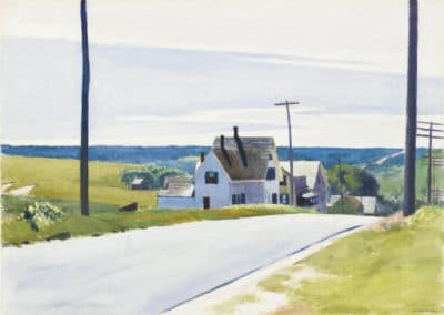 High road - Edward Hopper (1931)
