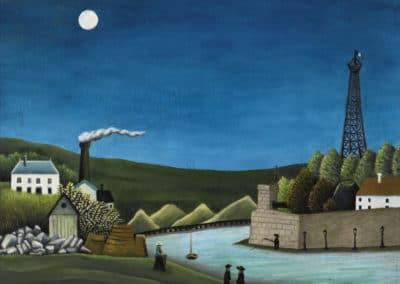 La Seine à Suresnes - Henri Rousseau (1911)