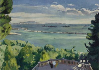 Mistral à l'Estaque - Albert Marquet (1918)