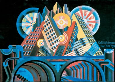 New-York - Fortunato Depero (1930)