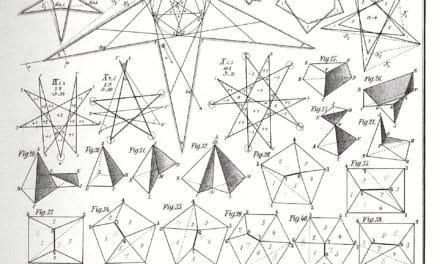 Polyèdres – Max Brückner