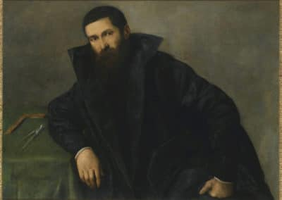 Portrait d'un architecte - Lorenzo Lotto (1540)