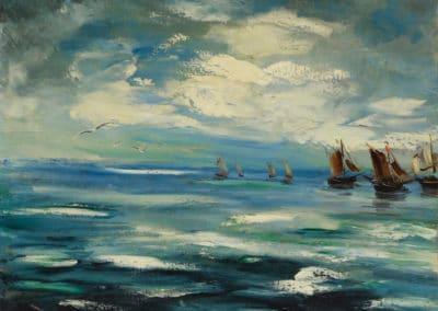 Voiliers - Maurice de Vlaminck (1940)