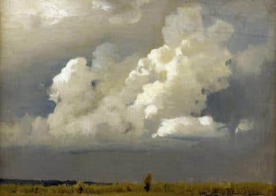 Before the thunderstorm - Isaac Levitan (1890)