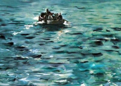 La fuite de Rochefort - Edouard Manet (1881)