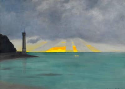 Le phare du soir - Félix Vallotton (1915)