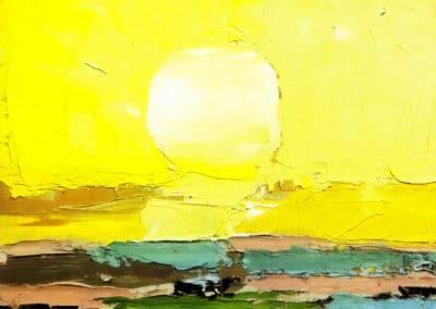Le soleil - Nicolas de Stael (1954)