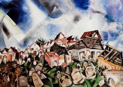 Marc Chagall - Cimetière (1917)