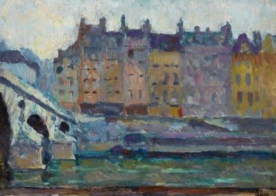 Paris, le Pont Neuf - Maximilien Luce (1893)