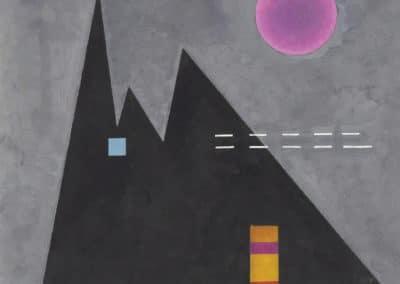 Scharf im dumpf - Wassily Kandinsky (1929)