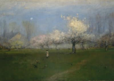Spring blossoms, Montclair, New Jersey - Georges Inness (1891)