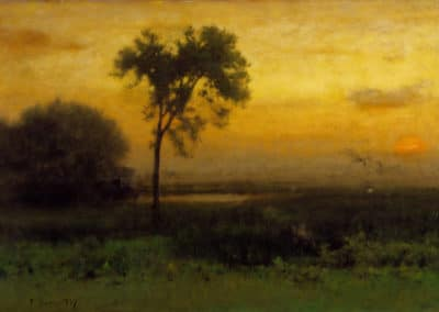 Sunrise - George Inness (1887)