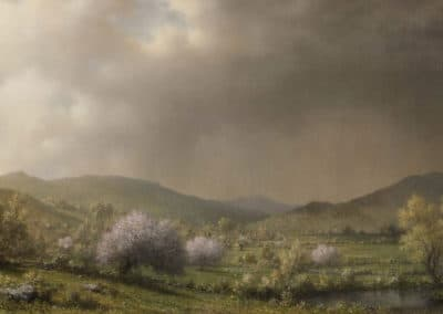April showers - Martin Johnson Heade (1868)