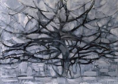 Arbre argenté - Piet Mondrian (1911)