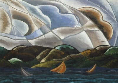 Clouds and water - Arthur Dove (1880)