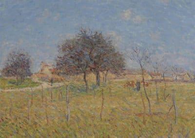 Entrée de village Saint-Cyr du Vaudreuil - Gustave Loiseau (1900)