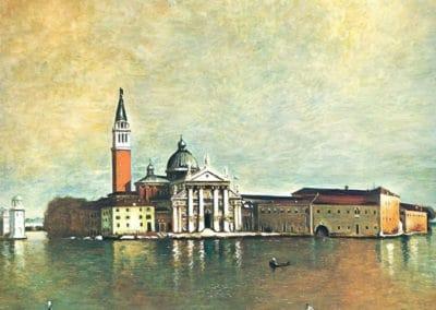 Ile de San Giorgio - Giorgio de Chirico (1967)
