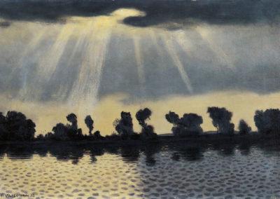 La Seine près des Andelys - Félix Vallotton (1916)
