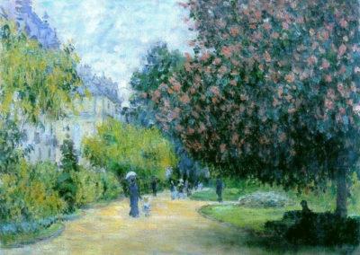 Park Monceau - Claude Monet (1876)