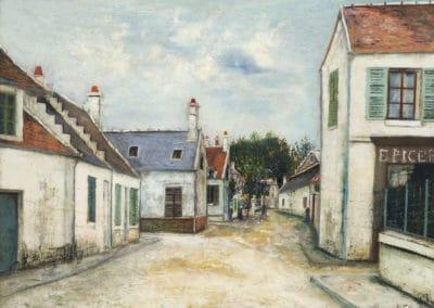 Rue de Compiegne - Maurice Utrillo (1912)