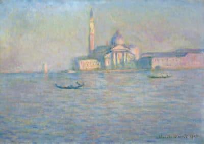San Giorgio Maggiore - Claude Monet (1905)