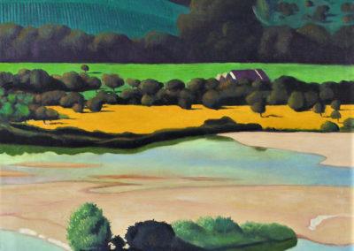 Soirée sur la Loire - Félix Vallotton (1923)