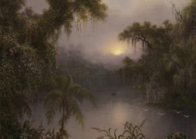 South american river - Martin Johnson Heade (1891)