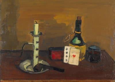 Stillleben mit Spielkarten - Albert Schnyder (1946)
